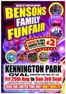 Bensons A2 Poster Kennington