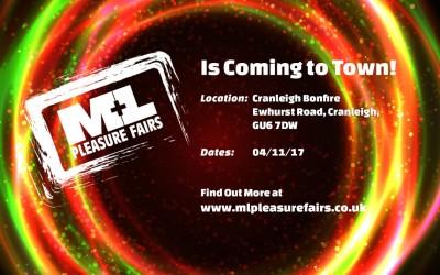 Our next stop is the Cranleigh Bonfire