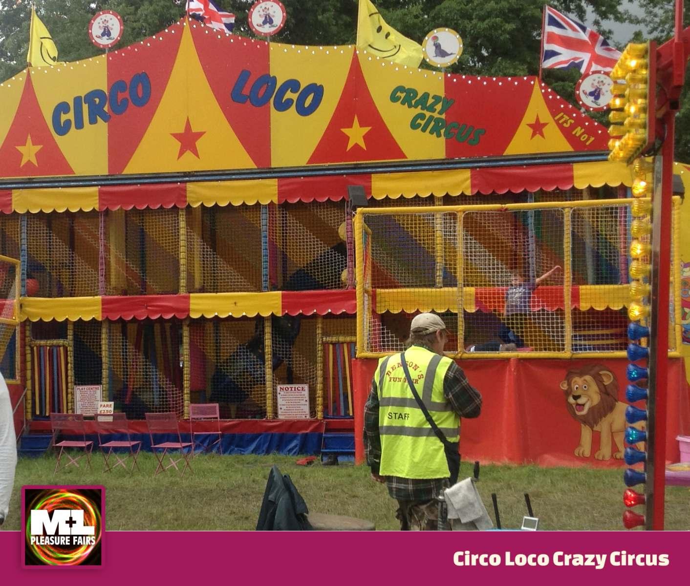 Circo Loco Crazy Circus Ride Image