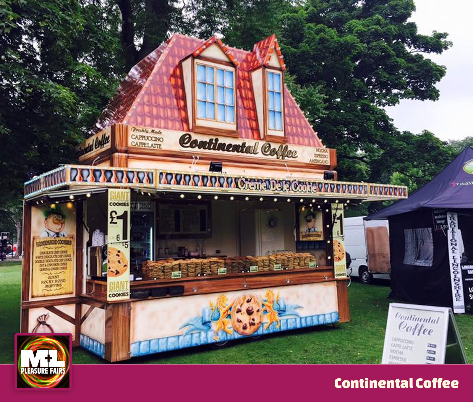 Continental Coffee Stand Image