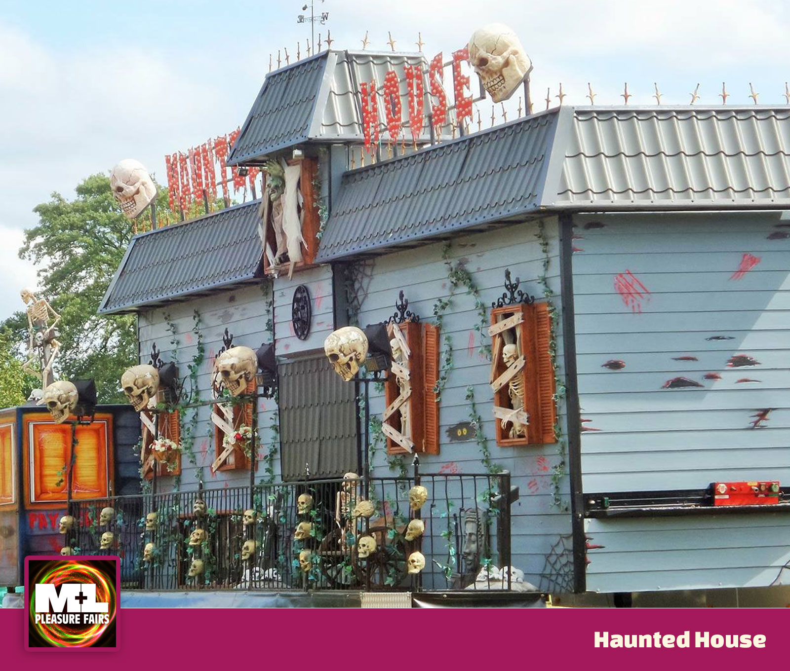 Haunted House Ride Image