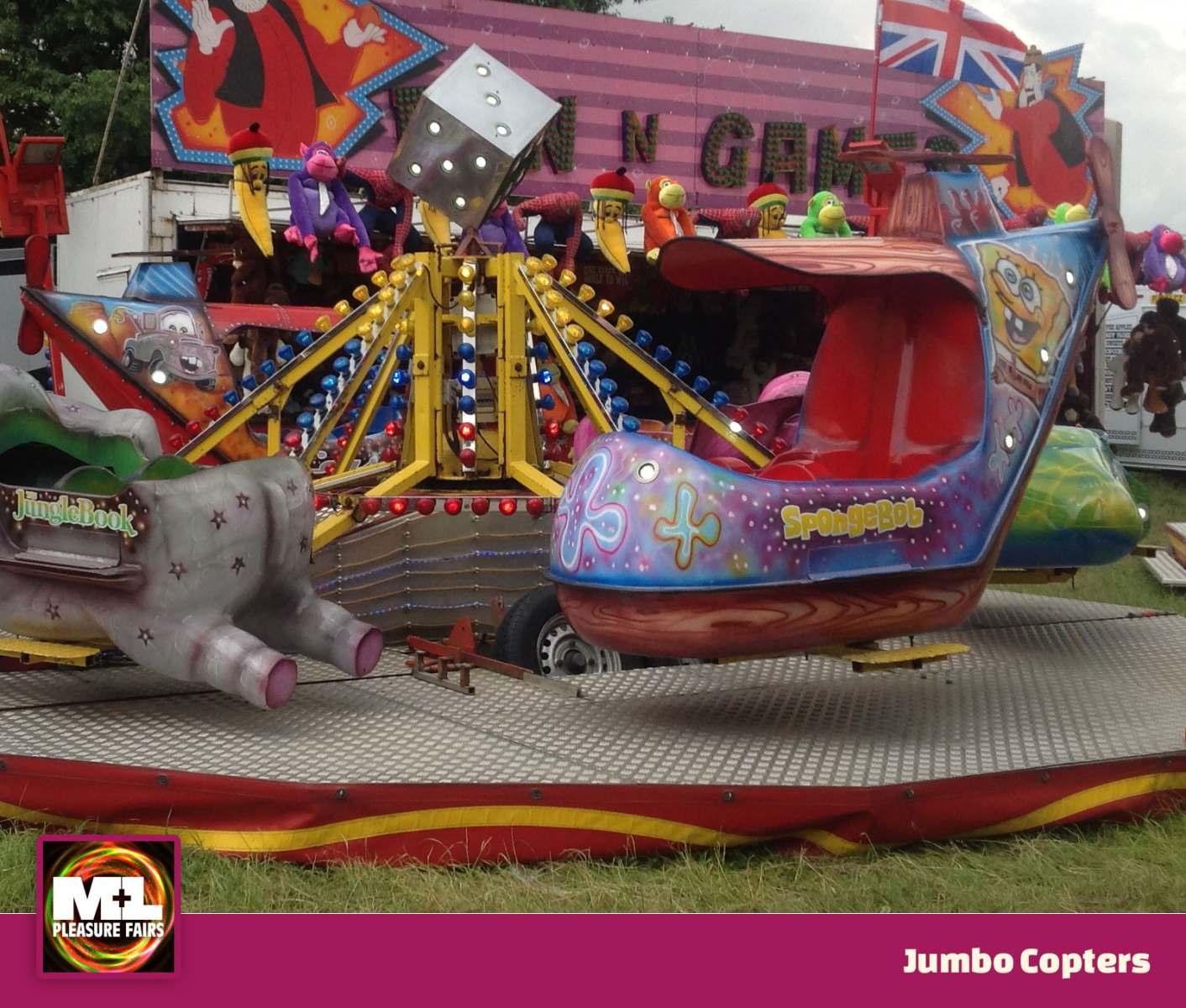 Jumbo Copters Ride Image