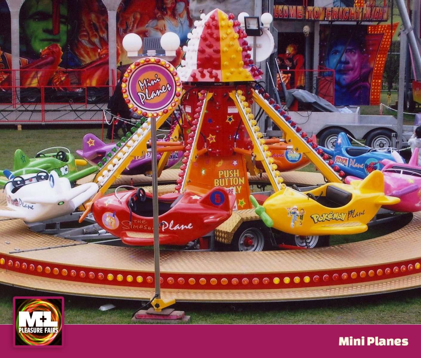 Mini Planes Ride Image