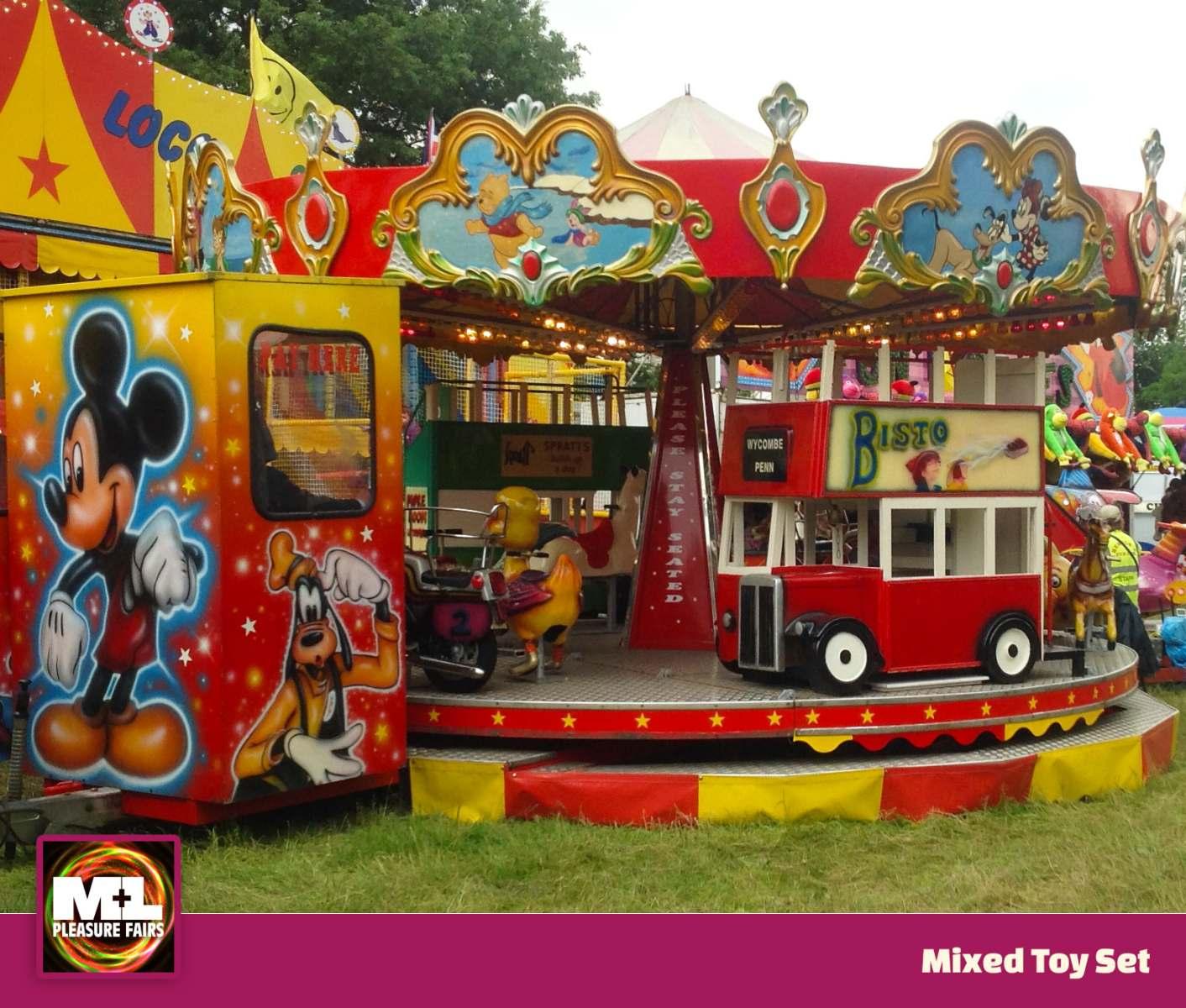 Mixed Toy Set Ride