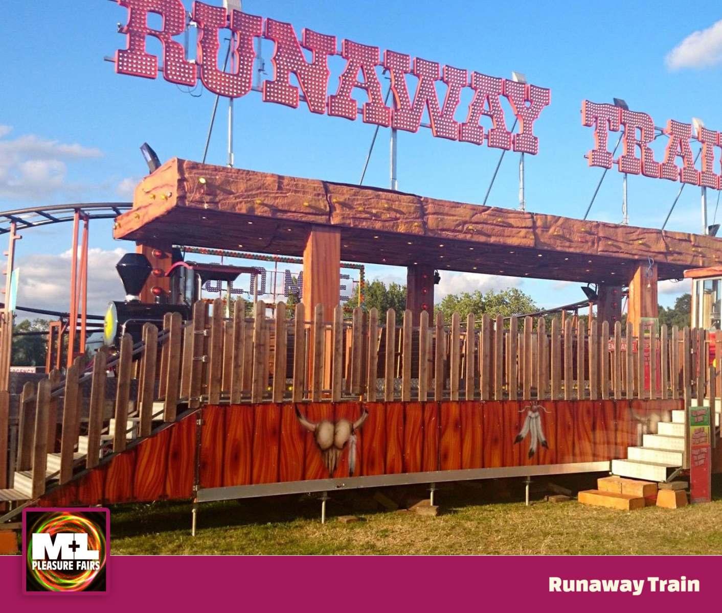 Runaway Train Ride Image