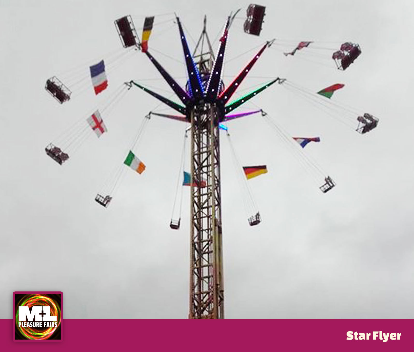 Superstar Ride Hire: M&L Pleasure Fairs