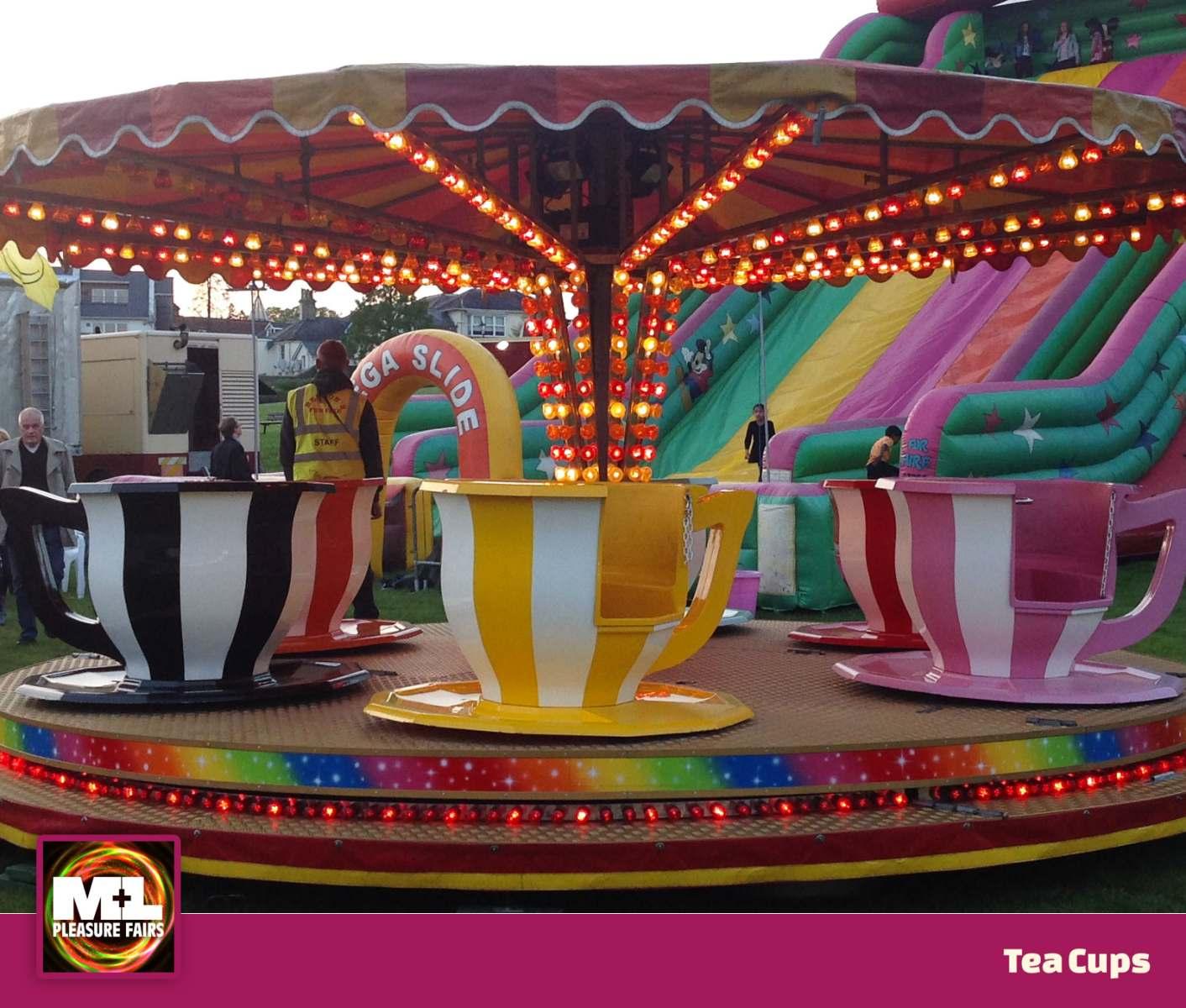 Tea Cups Ride Image