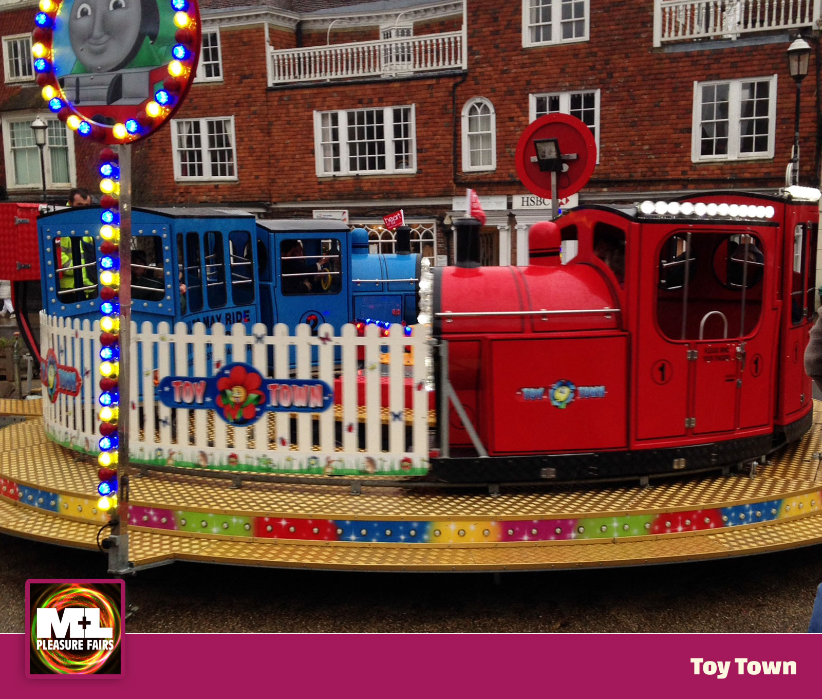 Toy Town Ride Image